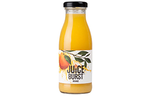 Juice Burst - Glass - Orange - 12x330ml