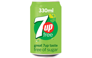 7Up Free - Cans - 24x330ml