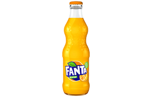 Fanta Glass - Orange - 24x330ml