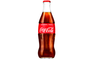 Coke Glass Bottles 24x330ml