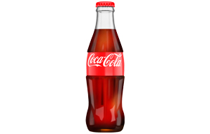 Coke - 200ml Glass Bottles - 24x200ml