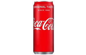 Coke - Sleek/Slim Cans - 24x330ml