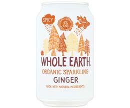 Whole Earth - Organic Ginger - 24x330ml
