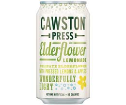 Cawston Press Cans - Elderflower Lemonade - 24x330ml