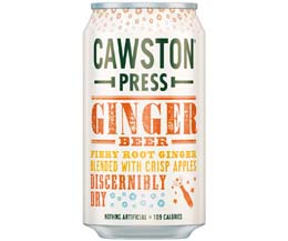 Cawston Press Cans - Ginger Beer - 24x330ml