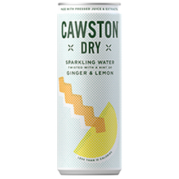 Cawston Dry - Lemon & Ginger - 24x250ml