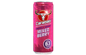 Carabao Cans - Mixed Berry - 12x330ml