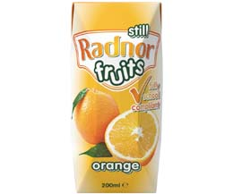 Radnor Fruits Still - Tetra - Orange - 24x200ml