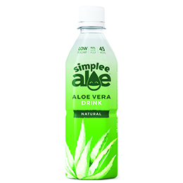 Simplee Aloe - Pet - Aloe Water - With Pulp - 12x500ml