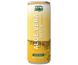 Simplee Aloe - Can - Passionfruit With Pulp-12x250ml