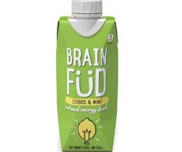 Brain Fud Tetra - Citrus & Mint - 12x330ml