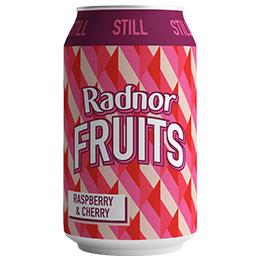 Radnor Fruits Can - Raspberry & Cherry - 24x330ml