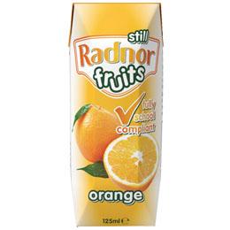 Radnor Fruits 125ml - Orange - 30x125ml