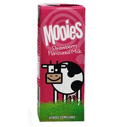 Mooies Flavoured Milk - Strawberry - 27x200ml