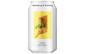 Something & Nothing - Yuzu Seltzer - 12x330ml