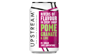 Upstream Pomegranate & Lime - 12x330ml