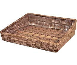 Rdp - Large Sloping Wicker Tray - 520x480x140/80Mm - 1x1