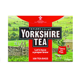 Single Yorkshire Tea Box - 1x100