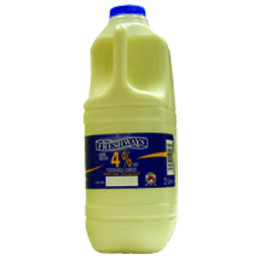 Single Whole Milk - 1x2L