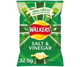 Walkers - Salt & Vinegar - 32x32.5g