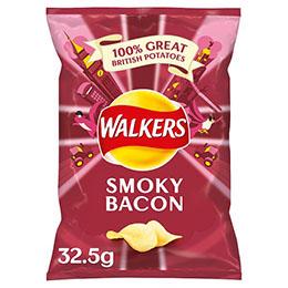 Walkers - Smokey Bacon - 32x32.5g