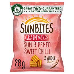 Walkers - Sunbites - Sweet Chilli - 36x28g