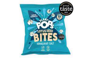 Popped Lotus Seeds - Himalayan Salt - 12x20g
