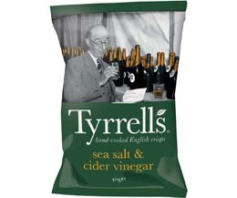 Tyrrells - Sea Salt & Cider Vinegar - 24x40g