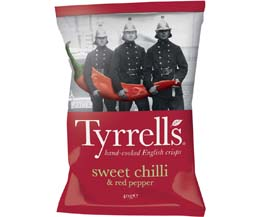 Tyrrells - Sweet Chilli & Red Pepper - 24x40g