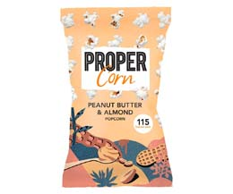 Propercorn - Smooth Peanut & Almond - 24x25g