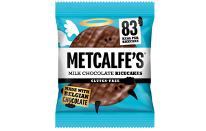 Metcalfe's Rice Cakes - Milk Chocolate - 12x34g
