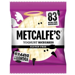 Metcalfe's Rice Cakes - Yoghurt - 12x34g