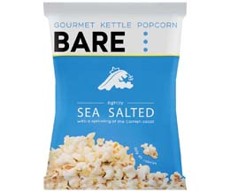 Bare Popcorn - Sea Salt - 18x22g