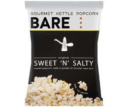 Bare Popcorn - Sweet & Salt - 18x27g