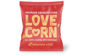 Love Corn - Habanero - 100x20g