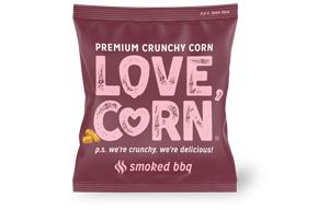 Love Corn - BBQ - 100x20g