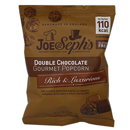 Joe & Seph's - Double Chocolate Caramel - 22x23g