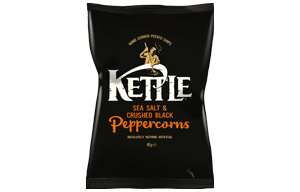 Kettles - Sea Salt & Black Pepper - 18x40g