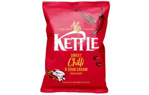 Kettles - Sweet Chilli & Sour Cream - 18x40g