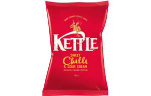 Kettles - Sweet Chilli & Sour Cream - 12x150g