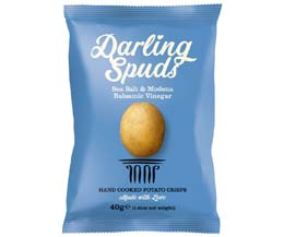 Darling Spuds - Sea Salt & Modena Balsamic Vinegar - 30x40g
