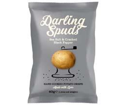Darling Spuds - Sea Salt & Cracked Black Pepper - 30x40g