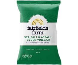 Fairfields - Sea Salt & Aspall Cyder Vinegar - 24x40g
