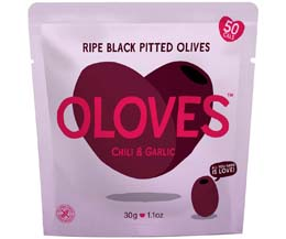 Oloves - Chili & Garlic (New) - 10x30g Pouch