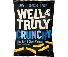 Well & Truly - Sea Salt & Cider Vinegar - 16x30g