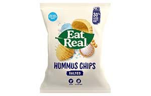 Eat Real - Hummus Chips - Sea Salt - 12x45g