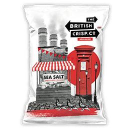 British Crisps - Sea Salt - 26x40g