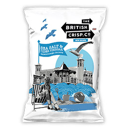 British Crisps - Salt & Vinegar - 26x40g