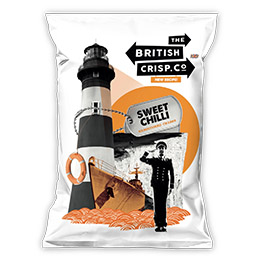 British Crisps - Sweet Chilli - 26x40g