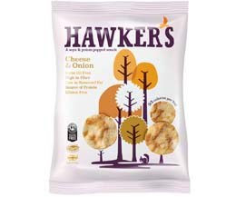 Hawkers - Cheese & Onion - 18x23g